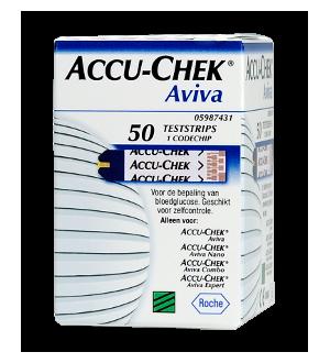 Accu-Chek Aviva: 50 Strisce