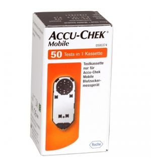 Accu-Chek Mobile: 50 Strisce
