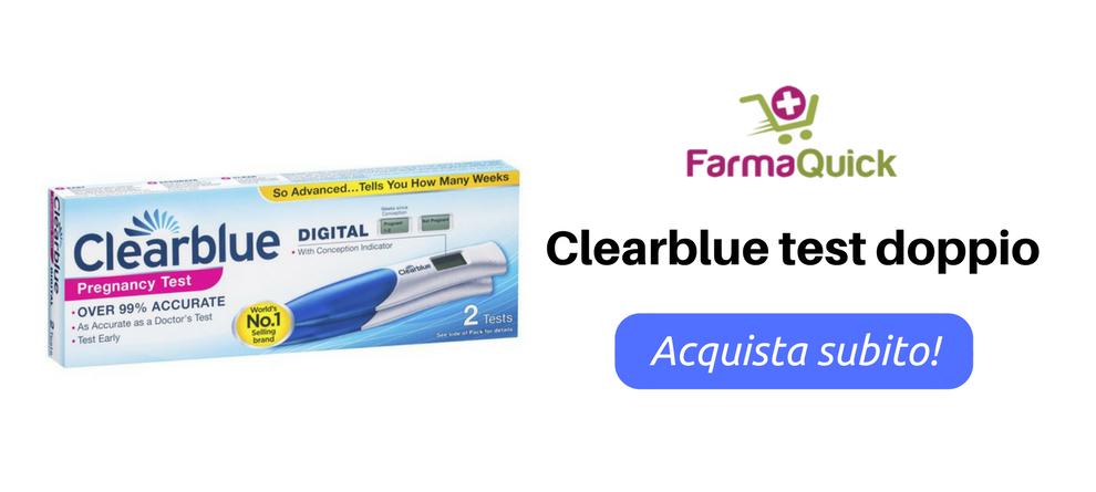 Clearblue Plus Test Gravidanza Doppio